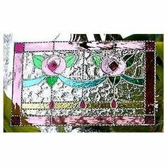 Pink Rose Stained Glass | rose stained glass luther rose stained glass pattern rose stained ...