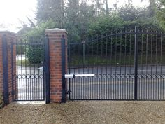 This is a decorative steel gate which can be created into endless designs, perfect for any home.
