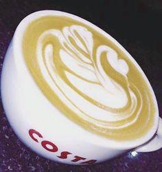 Good morning you beautiful bunch Costa Coffee  #Swan #Wednesday #Coffeeskills