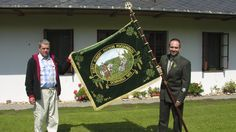 Ceremonial flags for hunting, firefighters, army, police, beekeepers and other associations and institutions