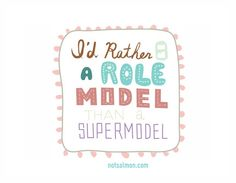 Be a healthy role model :)  I am the oldest of lots of kids, mostly girls, so this matters to me.