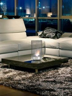 Ethanol Fireplaces Available at www.YummiCandles.com