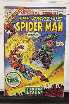 1973 The Amazing Spider-Man King-Size Special Issue #9 Marvel Comic Book