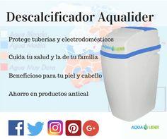 filtros de agua. Descalcificadores de agua para proteger la salud de tu familia y tu vivienda.