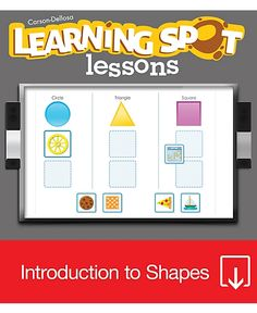 Shapes for Interactive Whiteboard #CDWishList