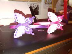 Diademas mariposas