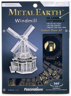 Metal Earth WINDMILL 3D Puzzle Micro Model | eBay