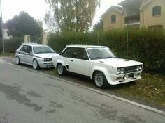 Fiat 131 Racing & Lancia Delta Fiat Cars, Hatchback Cars, Lancia Delta, Rally Car, Dream Garage, Courses, Old Cars, Cars And Motorcycles, Muscle Cars