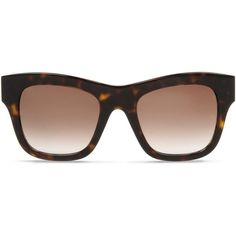 Stella Mccartney Havana Falabella Square Sunglasses (35655 RSD) ❤ liked on Polyvore featuring accessories, eyewear, sunglasses, dark brown, oversized sunglasses, oversized glasses, chain sunglasses, logo sunglasses and uv protection sunglasses