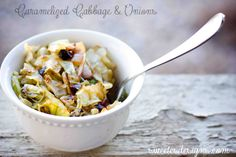 Easy Caramelized cabbage and onions