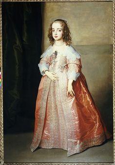 Bild: Sir Anthony van Dyck - Portrait of Mary, Princess Royal, c.1641