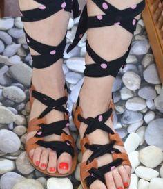 handmade greek sandals Greek Sandals, Gladiator Sandals, Shoes Sandals, Boots, Handmade, Fashion, Crotch Boots, Moda, Hand Made