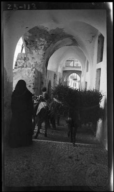 Thera, Santorini island [Streets and arches]; Greece Photography, Vintage Photography, Old Pictures, Old Photos, Greece History, Santorini Island, Great Photographers, Greek Islands, Athens