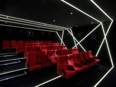 W Hotel Film Club, Leicester Square - 17 Charming Cinemas In London You Must See Before You Die Home Cinema Room, Home Theater Rooms, Home Theater Design, Cinemas In London, Auditorium Design, Hotel Concept, Room London, W Hotel, Room Screen