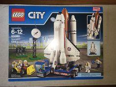 LEGO City Spaceport (60080) BRAND new Sealed Retired Rare Nice Box