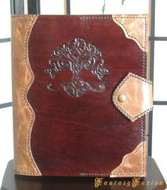 Hey, I found this really awesome Etsy listing at https://www.etsy.com/listing/130312226/medieval-celtic-tree-of-life-leather