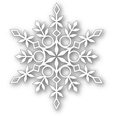 *Simon Says Stamp ELIZA SNOWFLAKE Craft DIE 111308