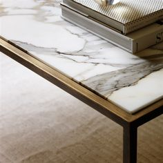 The Siena is small coffee table that will suit any living room. Its distinctive design looks great with either a wood or marble top. Table Furniture, Modern Furniture, Furniture Design, Hardwood Furniture, Kitchen Furniture, Marble Collection, Modern Coffee Tables, Brass Coffee Table, Contemporary Coffee Table