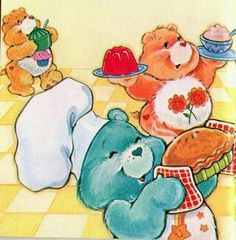 Care Bears: Birthday, Friend and Wish Bear Baking