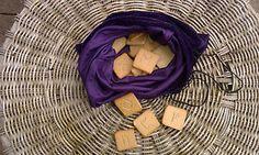 Ceramik Runes In Velveten Sack Metaphysical New Age Handmade STNONEWARE Gift Set