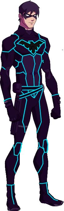 Tron Young Justice Nightwing by ~rxlthunder