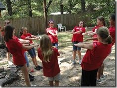 Fairfield Corner Academy: Team building with my Girl Scouts!