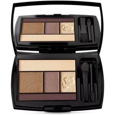 Lancome Color Design 5-pan Eyeshadow Palette ($50) ❤ liked on Polyvore featuring beauty products, makeup, eye makeup, eyeshadow, beauty, enchanted winter, palette eyeshadow, lancome eye makeup, lancôme e lancome eyeshadow