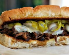 Recipes For Divine Living: Pulled Beef Hoagies - The best shredded beef Ive had in ages. Bonus: Its cooked in a crock pot. Slow Cooker Recipes, Crockpot Recipes, Pork Recipes, Yummy Recipes, Pulled Beef, Cheesy Mashed Potatoes, Sports Food, Shredded Beef, Tasty Kitchen
