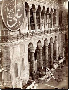 ✿ ❤ Bir Zamanlar İSTANBUL, 1875 ayasofya..