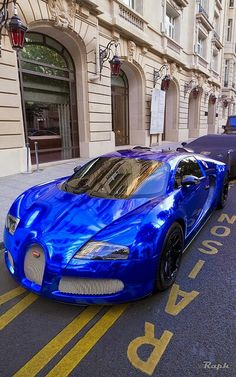 Bugatti Veyron Love The Blue!