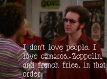 That Show Quotes Hyde That 70s Show Quotes, Tv Show Quotes, Movie Quotes, True Quotes, Funny Quotes, Favorite Tv Shows, Favorite Quotes, 70 Show, Love People