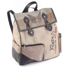 Retro Backpack by Mona B available at Viva Home Decor