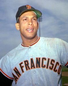 Orlando Cepeda (San Francisco Giants) National League Rookie of the Year (1958).