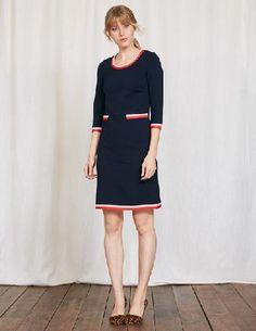 407e50c5 #Boden Gloria Ponte Dress Navy Women Boden, Navy 36180008 #No wardrobe can  be