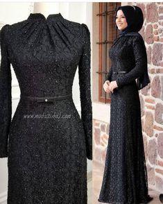 Black elegant hijab evening dress – Best Of Likes Share Hijab Prom Dress, Hijab Gown, Hijab Evening Dress, Muslim Dress, Evening Dresses, Prom Dresses, Formal Dresses, Abaya Fashion, Muslim Fashion