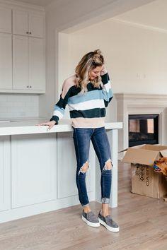 Dani Austin Striped Sweater