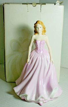 Royal Doulton Naomi Pretty Ladies Figurine HN4661 Boxed Blonde Pink Retired
