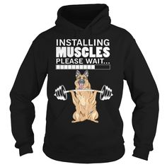 #German Shepherd Muscles, Order HERE ==> https://www.sunfrog.com/LifeStyle/113852673-426880205.html?8273, Please tag & share with your friends who would love it, #xmasgifts #superbowl #birthdaygifts  #german shepherd dog quotes, german shepherd dog blue, german shepherd dog colors   #family #gym #fitnessmodel #athletic #beachgirl #hardbodies #workout #bodybuilding