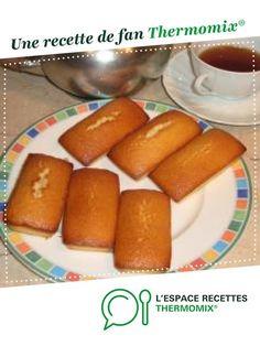 Financiers par lilas35. Une recette de fan à retrouver dans la catégorie Pâtisseries sucrées sur www.espace-recettes.fr, de Thermomix<sup>®</sup>.