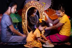 Myanmar thanakha grinding, burmese girl Burmese Girls, Grinding, Wrestling, Beautiful, Lucha Libre, Ribbons