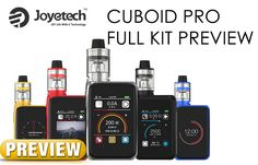 Just when you thought touchscreen mods were going away, here comes the Joyetech Cuboid PRO box mod. Now, I don't mean to sound negative – some of the more recent touchscreen boxes had their moments. SMOK's G-Priv, for example, was arguably the best use of touch technology since these devices started hitting shelves. #200w box mod #Cuboid #Cuboid Pro #Dual Cell #joyetech #vaping