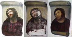 Pensioner turns priceless fresco into 'Monkey Jesus': The Opera