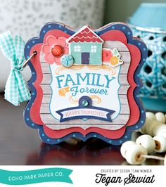 "Family is Forever - Mini Album by Tegan Skwiat featuring the ""The Story of Our Family"" collection by #EchoParkPaper"