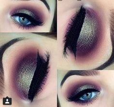 Gorgeous Makeup: Tips and Tricks With Eye Makeup and Eyeshadow – Makeup Design Ideas Gorgeous Makeup, Pretty Makeup, Love Makeup, Makeup Inspo, Beauty Makeup, Green Makeup, Fall Makeup, Gorgeous Eyes, Makeup Blog