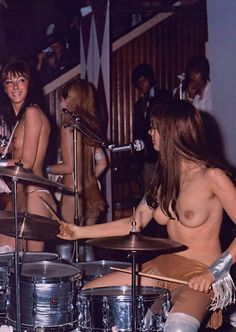 Ladybirds - the first topless band