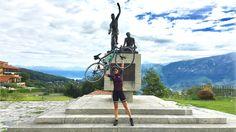 """Ghisallo, la meta ciclistica più amata di sempre - Nel curriculum di ogni bravo ciclista non può mancare almeno una volta nella vita la salita al Ghisallo. Il santuario più amato dai ciclisti di tutto il mondo ospita cimeli e ricordi dei più grandi campioni di tutti i tempi. Cronaca di una """"prima volta"""" speciale, salutata dall'incontro con Francesco Moser! - Read full story here: http://www.fashiontimes.it/2017/08/ghisallo-meta-ciclistica/"""