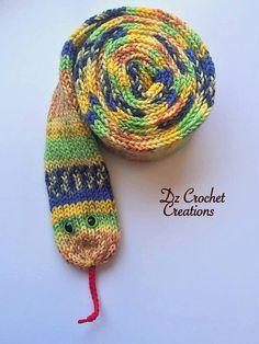 Knit Scarf - Knit Snake Scarf - Soft Knit Scarf - Soft Knit Snake Scarf - Super  Soft Knit Scarf - Scarf - Scarves - Ready to Ship