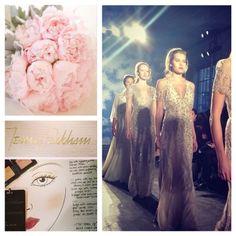 Laura Mercier & Jenny Packham - bridal dream team! #repost @Laura Mercier @HudsonMOD #NYBFW #jennypackham #bridalbeauty Flowers: Petal Productions photographed by KT Merry