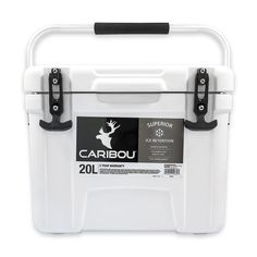 Camco 51872 Camping Cooler Caribou Fishing Cooler RV Cooler Brand New RV Campers #Camco