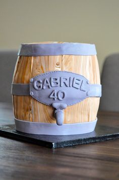 Beer barrel cake #beercake #beerbarrel